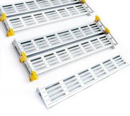 Roll-A-Ramp besteht aus Modulen